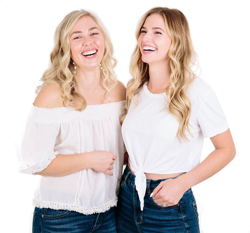 picture of two women at aesthetics center